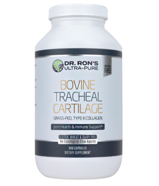 Bovine Tracheal Cartilage 180ct (Dr. Ron's)
