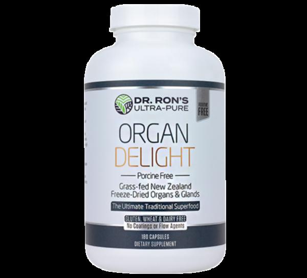 Organ Delight – Porcine Free 180ct (Dr. Ron's)