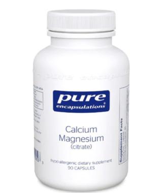 Calcium Magnesium Citrate 90ct (Pure)